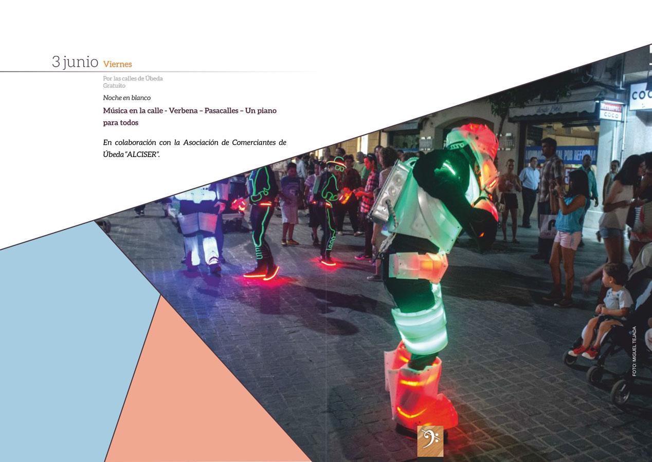 NOCHE EN BLANCO DE ÚBEDA - Feria de la Música - 28 Festival Internacional de Música y Danza 'Ciudad de Úbeda'